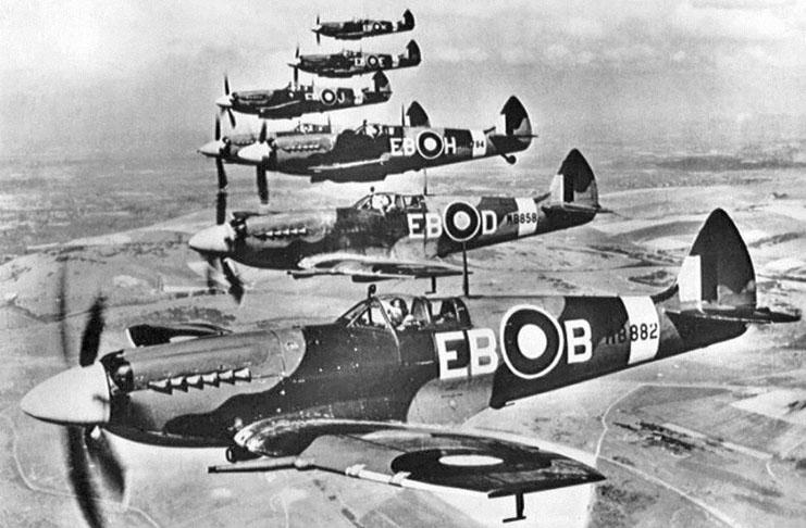 Přednáška o československých letcích v RAF