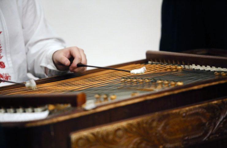 Horňácká cimbálová muzika Petra Galečky z Lipova