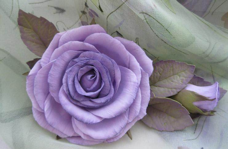 Květina z Foamiranu
