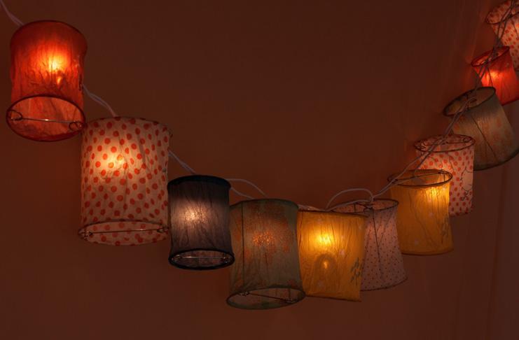 Výroba lampionů