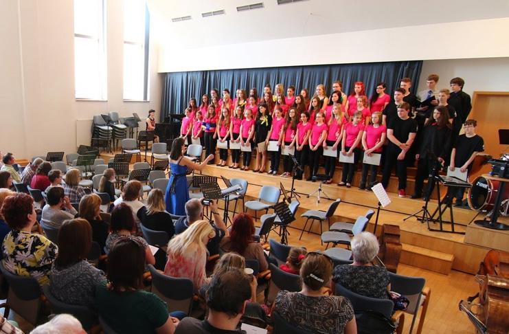 Jarní koncert pěveckých sborů Zlatý klíček a Vox Coloris